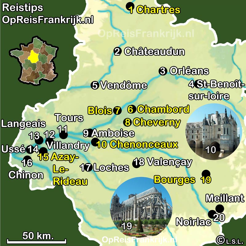 Centre Op Reis Frankrijk